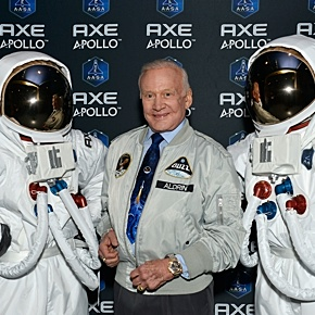 Space legend Buzz Aldrin is honorary patron of Axe Apollo mission