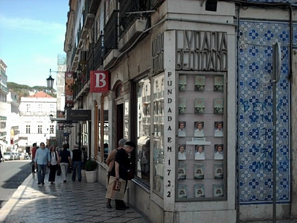 Bertrand Buchladen, Lisbon, Portugal, since 1732
