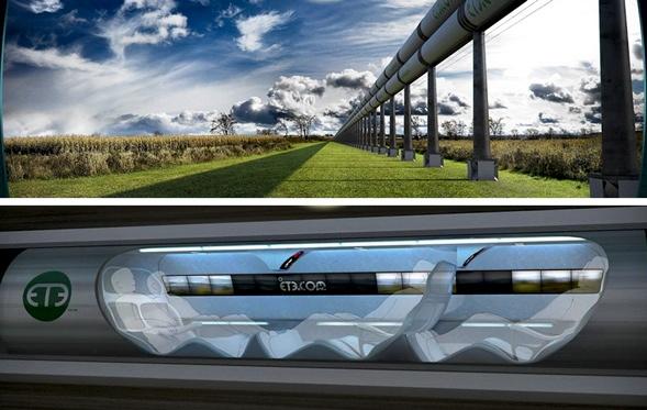Hyperloops transportation system