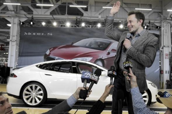 Tesla-Chef Elon Musk, der auch Paypal gegründet hat.