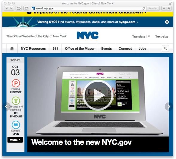 Willkommen auf der neuen nyc.gov