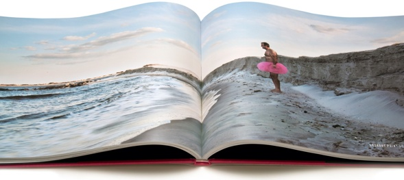 Famous landmarks in obscure settings-all united by a singular theme: a man in his pink tutu bearing all in support of his wife, Linda, and those who have been afflicted by breast cancer.