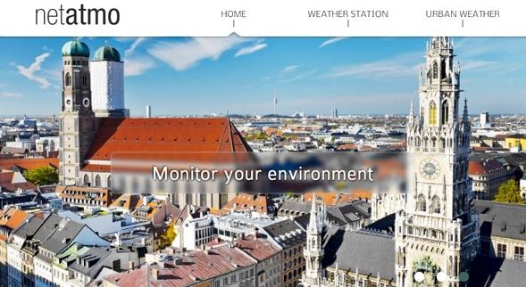 Netatmo website
