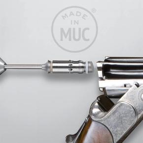 Quick lock drop barrel weapon