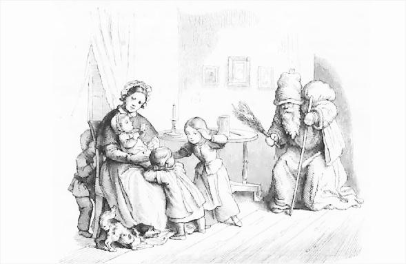 Weihnachtsmotiv von Hans Richter