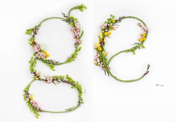 Blütenschrift von Alice Mourou