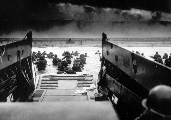Frankreich am D-Day, 6. Juni 1944. (AP Photo)