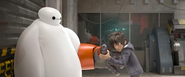 Bildschirmaufnahme aus Big Hero 6 Filmvorschau. Quelle: skunkandburningtires.com