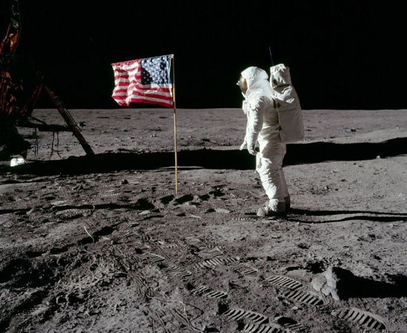 Auf dem Mond (NASA)