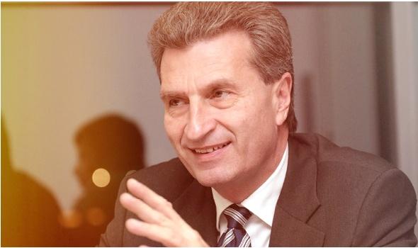 Günther Oettinger, der neue EU-Kommissar für die digitale Wirtschaft