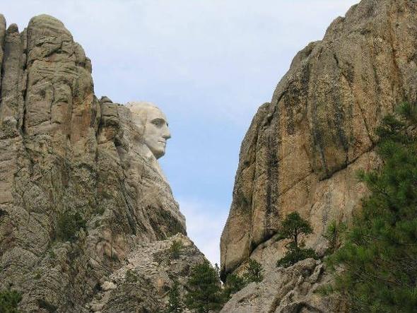 Mt. Rushmore via Miss Cellania