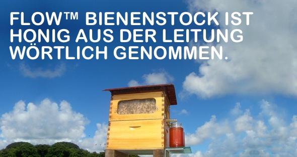 Flow™ Bienenstock ist Honig aus der Leitung, wörtlich genommen.