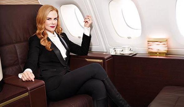Nicole Kidman © Foto: Etihad Airways