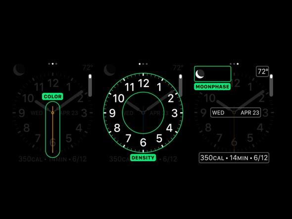 Apple's neue San Francisco Systemschrift