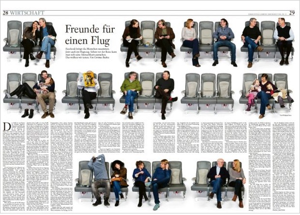Neugestaltung der FAZ Sonntagszeitung
