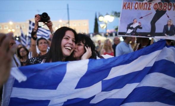 Tsipras gewinnt Volksabstimmung Foto: Getty Images