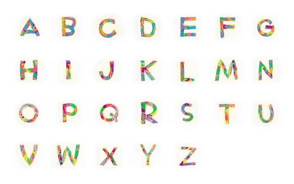 Handgemachte, Sans Serif, Strata-Schnitt Type. Ludo Sans.