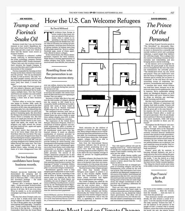 Lennard Kok Illustration in der New York Times
