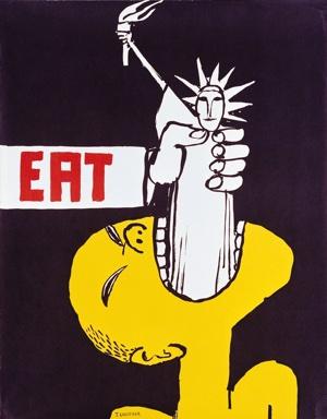 #eat ©Tomi Ungerer