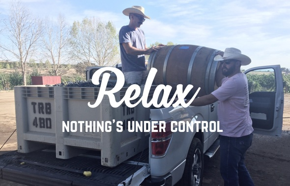 Relax Nothing's under control