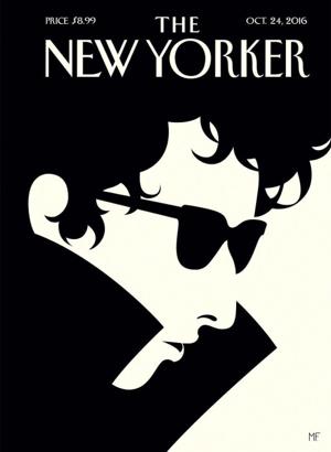 Magazintitel des New Yorker Magazin für nächste Woche