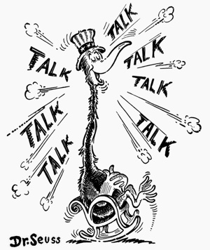 Frühe politische Illiustration von Dr. Seuss