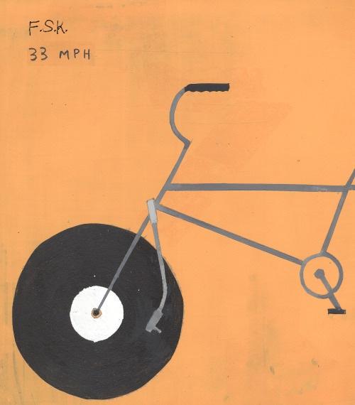 F.S.K. 33 MPH nach einem Gemälde von Michael Dumonter und Neil Farber