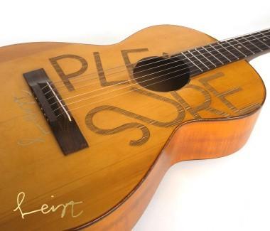 Eine von 2 Framus Sigantur Gitarren