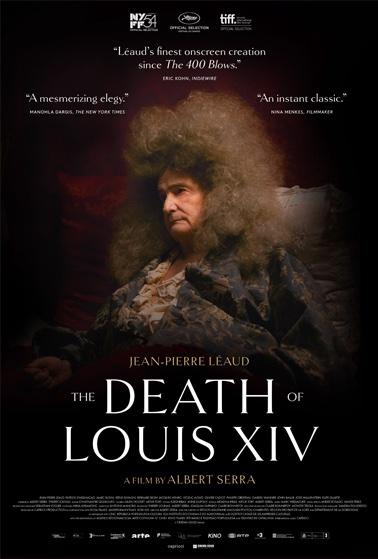 """Plakat zum Film, """"Der Tod von Ludwig XIV"""""""