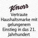 Knorr Sofort-Nahrung's Hymne an von Zeitmangel gepagte Versorger.