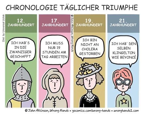Chronologie täglicher Triumphe ©John Atkinson