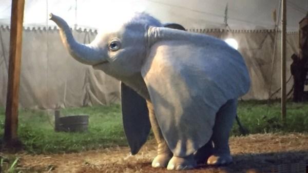 Disney's Dumbo von Tim Burton.