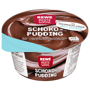 According to its previous public consumer voting, Rewe keeps to their promise and stocks their shelves with the voted for 30% sugar pudding.