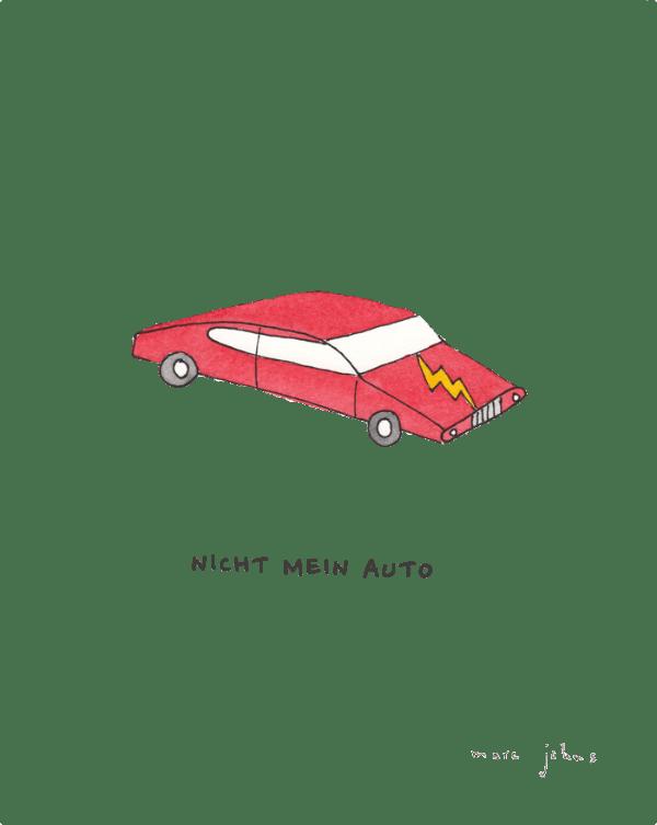 Not my car - Marc Johns