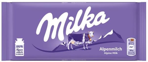 Neue Milka Verpackung (2018)