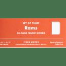 Um eine neue Filmdokumentation zu begleiten, bringt Field Notes eine limitierte Rams Auflage im 3er-Pack mit Rückblick auf das Braun T3 Transistorradio von 1958 für $12.95 heraus.