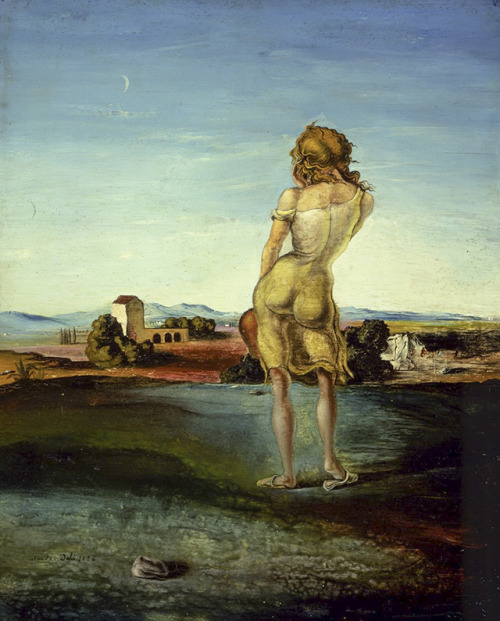 """""""Mädchen mit Locken"""" Salvador Dali 1926"""