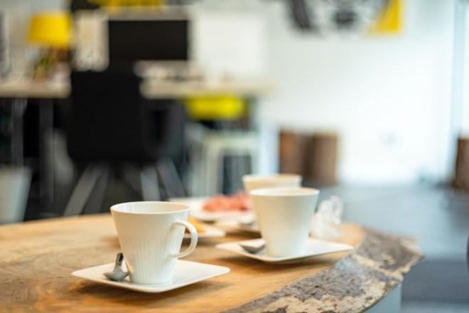 Fika - die schwedische Kaffeepause, der Kaffee ist fertig