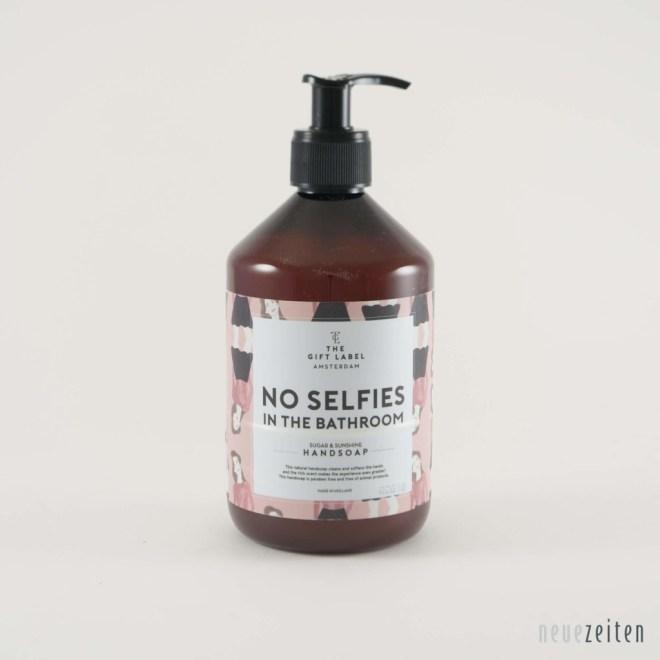 Produktbild - the Gift Label - Flüssigseife - no Selfies in the Bathroom