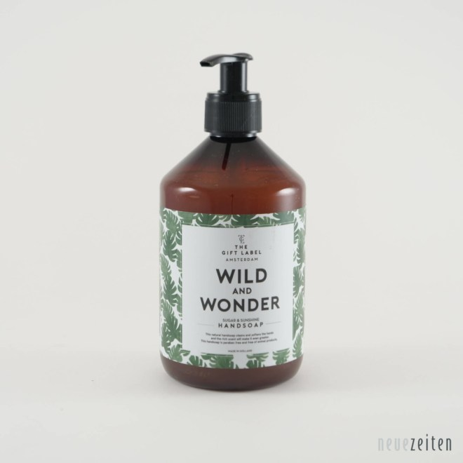 Produktbild - the Gift Label - Flüssigseife - Wild and Wonder
