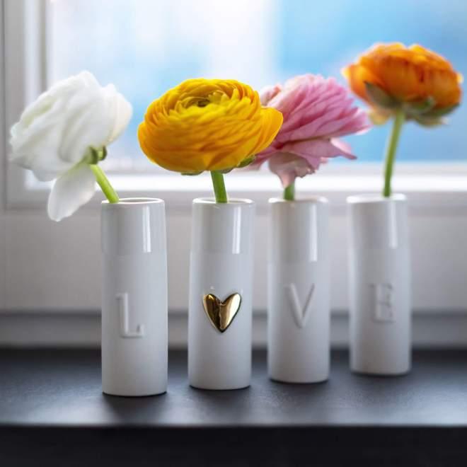 Produktbild - Mini Vasen - Love