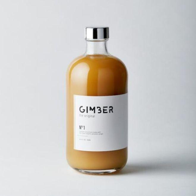 Gimber Alkoholfrei Ingwer Zitrone Limonade Aperitif