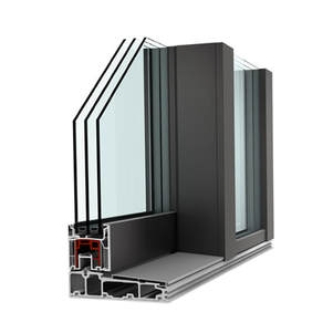 UPVC lift and slide doors, UPVC Aluminum Lift and Slide Doors