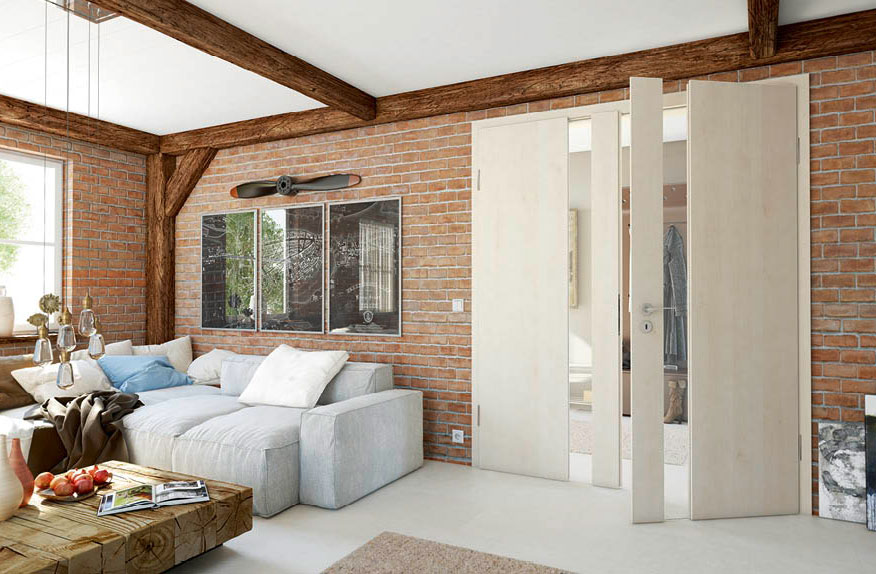 Wood and Glass Interior Doors - ROOTS Collection