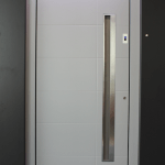 Aluminum Entrance Doors with Fingerprint Scan NeuFenster Doors and Windows