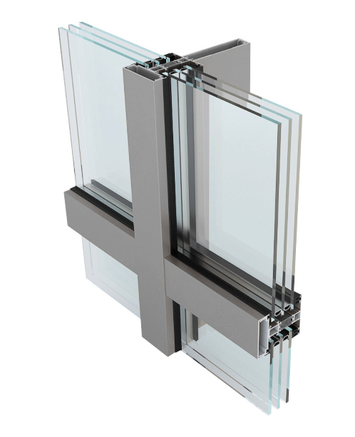 TM 82 Aluminum Curtain Wall NeuFenster Canada