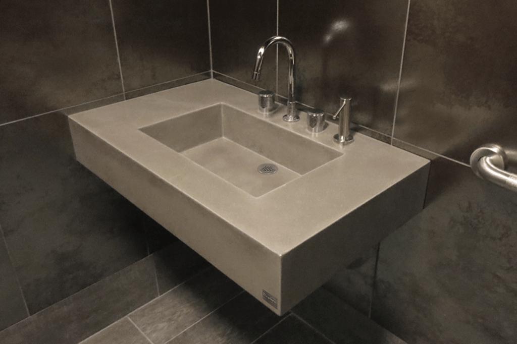 ada concrete wall mount sinks