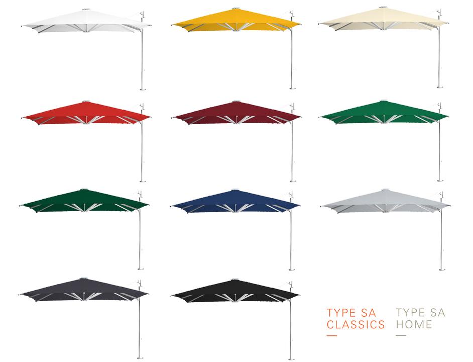 Gallery Of Sidearm Umbrellas Types Sa And Sa Home 15