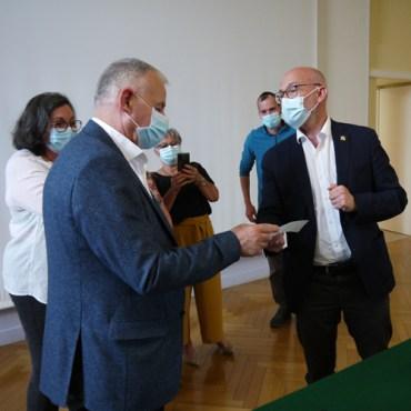 Visite du Sénateur Olivier Paccaud