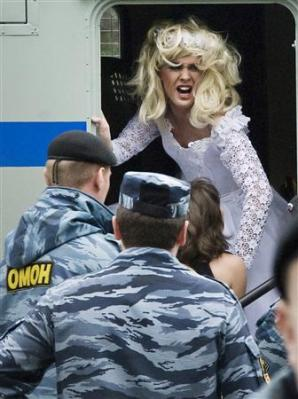 police-detain-man-dressed-bridal-gown